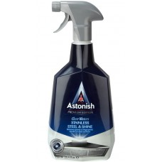 ASTONISH Premium Edition Stainless Steel and Shine 750мл